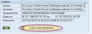 SSL Webservices im SAP nutzen