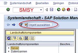 SAP SMSY Systemlandschaft