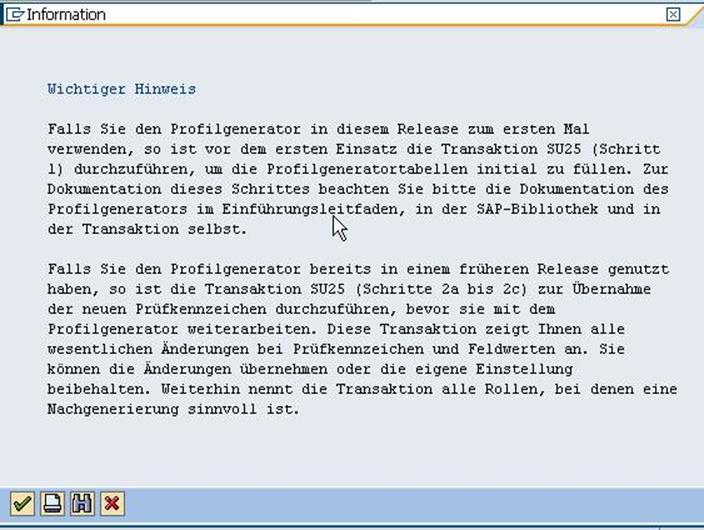 Verhalten von Berechtigungen nach SAP Upgrades