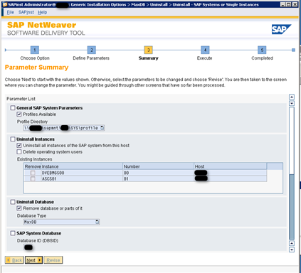 SAP Software Provisioning Manager