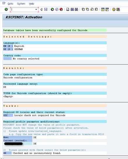 Sprachpaket in SAP aktivieren