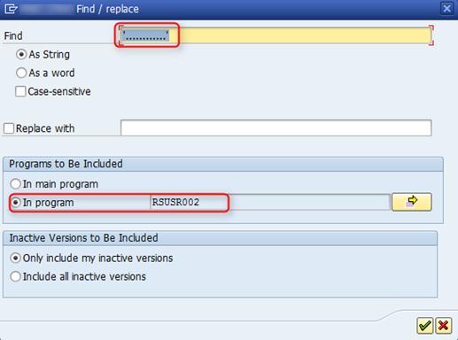 SAP Sicherheitslücke in der Transaktion SUIM