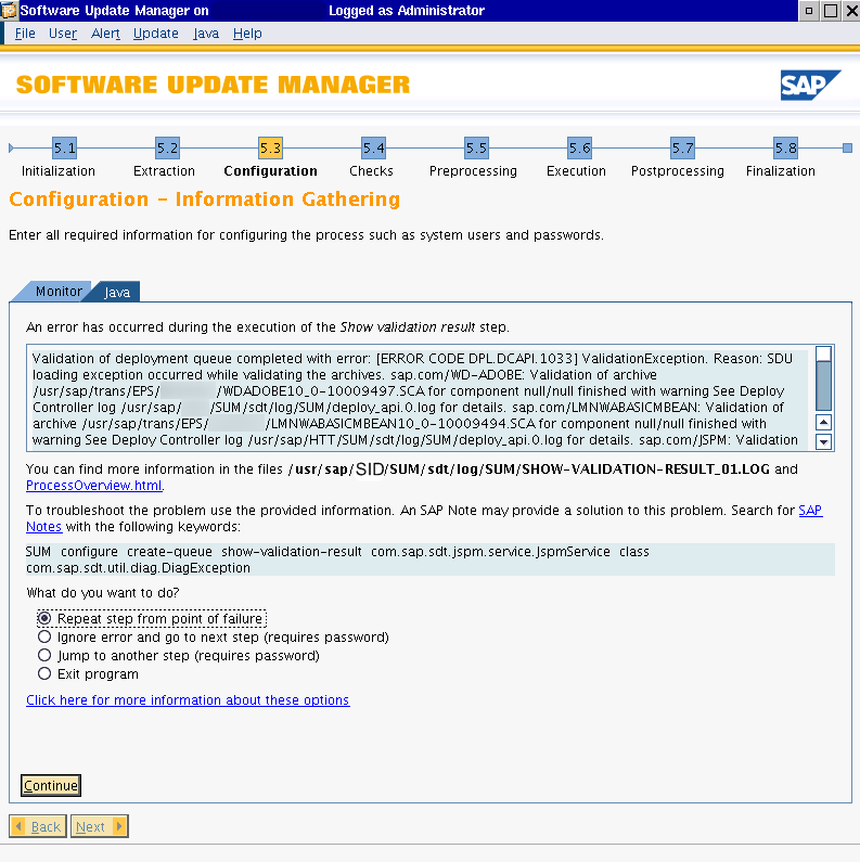 sap Software Update Manager