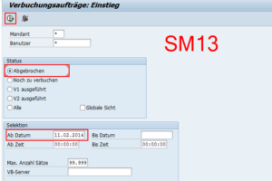 SAP SM13