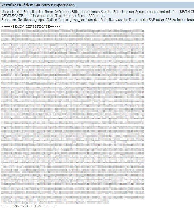 HowTo: SAProuter-SNC-Zertifikat ganz einfach erneuern