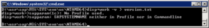 SAP Kernel Version Kommandozeile 1