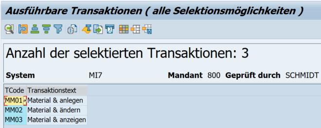 Transaktionen mehrerer Rollen (Nutzer)
