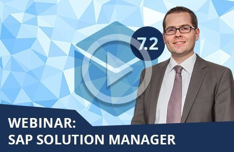 Webinare SAP Solution Manager