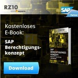 SAP Berechtigungskonzept