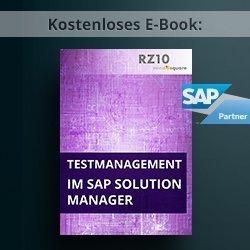 E-Book: SAP Testmanagement im SAP Solution Manager