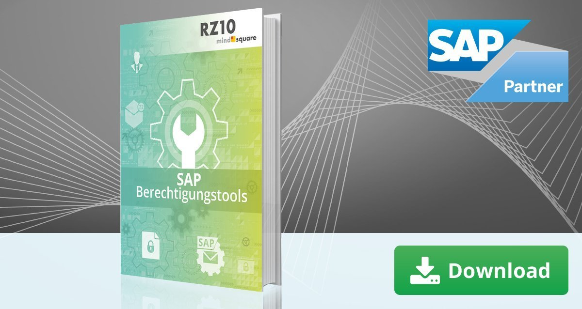 SAP Berechtigungstools
