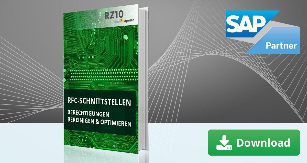 SAP RFC Schnittstellen
