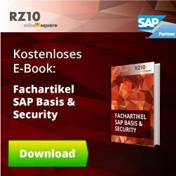 Fachartikel SAP Basis & Security