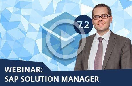 Webinar: SAP Solution Manager