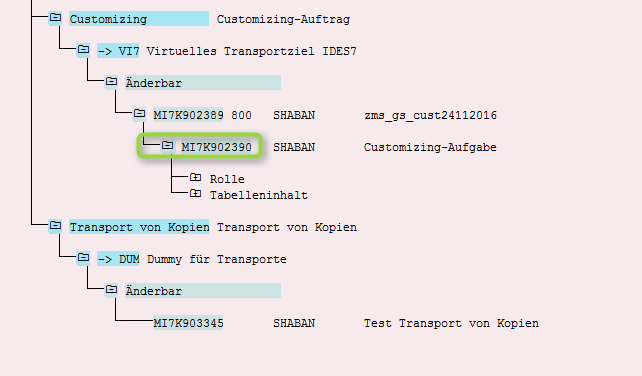 Transporte von Kopien - Aufgabe kopieren
