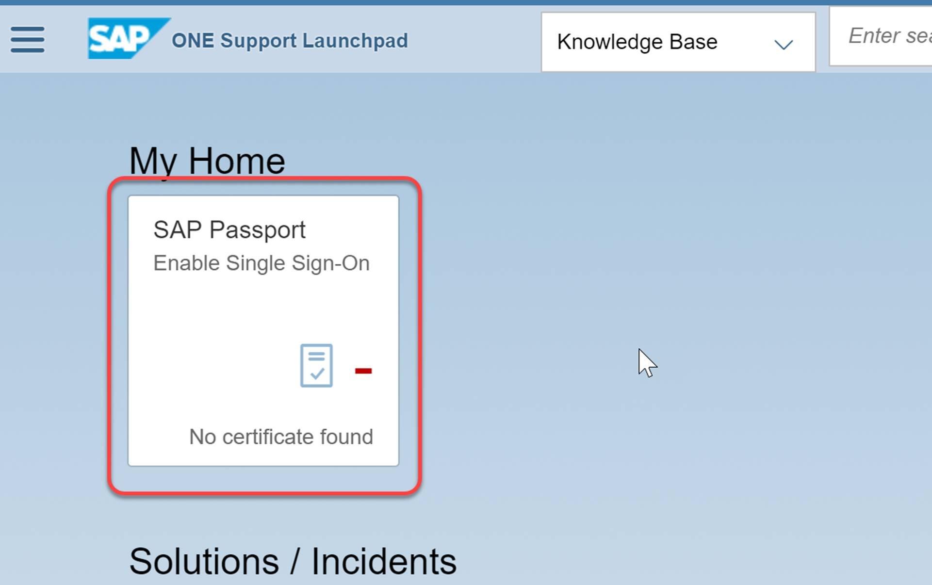 Client-Zertifikat: My Home
