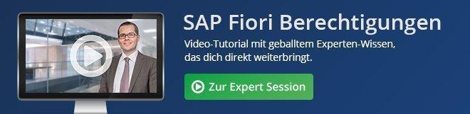 SAP Fiori Berechtigungen