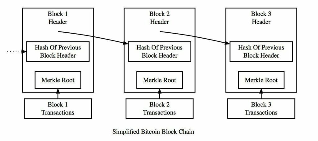 Transaction in the Blockchain