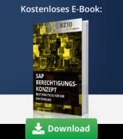 E-Book SAP Berechtigungskonzept