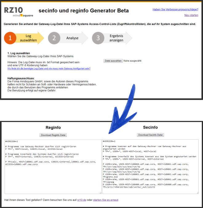 secinfo_und_reginfo