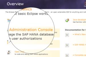 HANA DB mit Eclipse erste Schritte