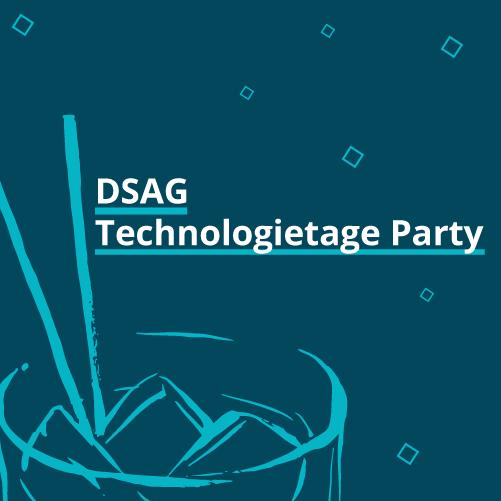 DSAG Technologietage Party 2019