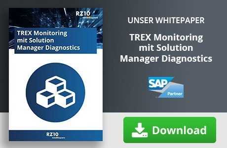 Howto: Trex Monitoring mit dem Solution Manager Diagnostics