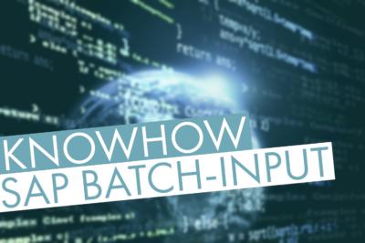 SAP Batch-Input