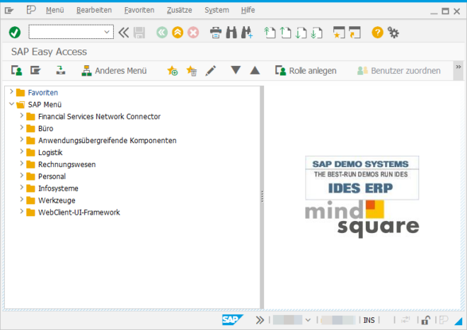 SAP GUI Version 7.60 Windows - Sessionmanager