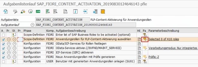 STC01 - Tasklist Activation - Aktivierung von Fiori Launchpad-Content via Aufgabenliste