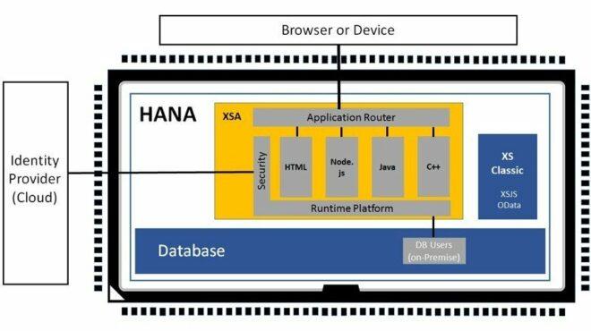 SAP HANA XS Advanced Runtime Platform