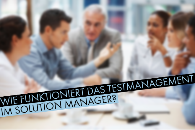 Testmanagement Solution Manager