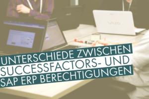 Unterschiedes SAP SuccessFactors Berechtigungen