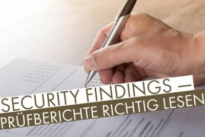 Security Findings